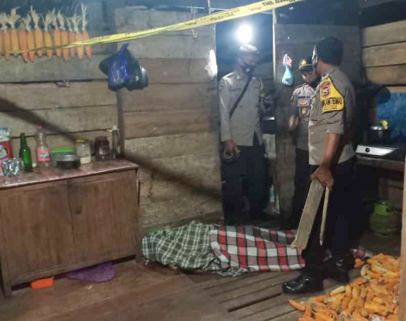 Diduga Alami Gangguan Jiwa, Seorang Anak Nekad Bunuh Ibunya Pake Lesung Cobek