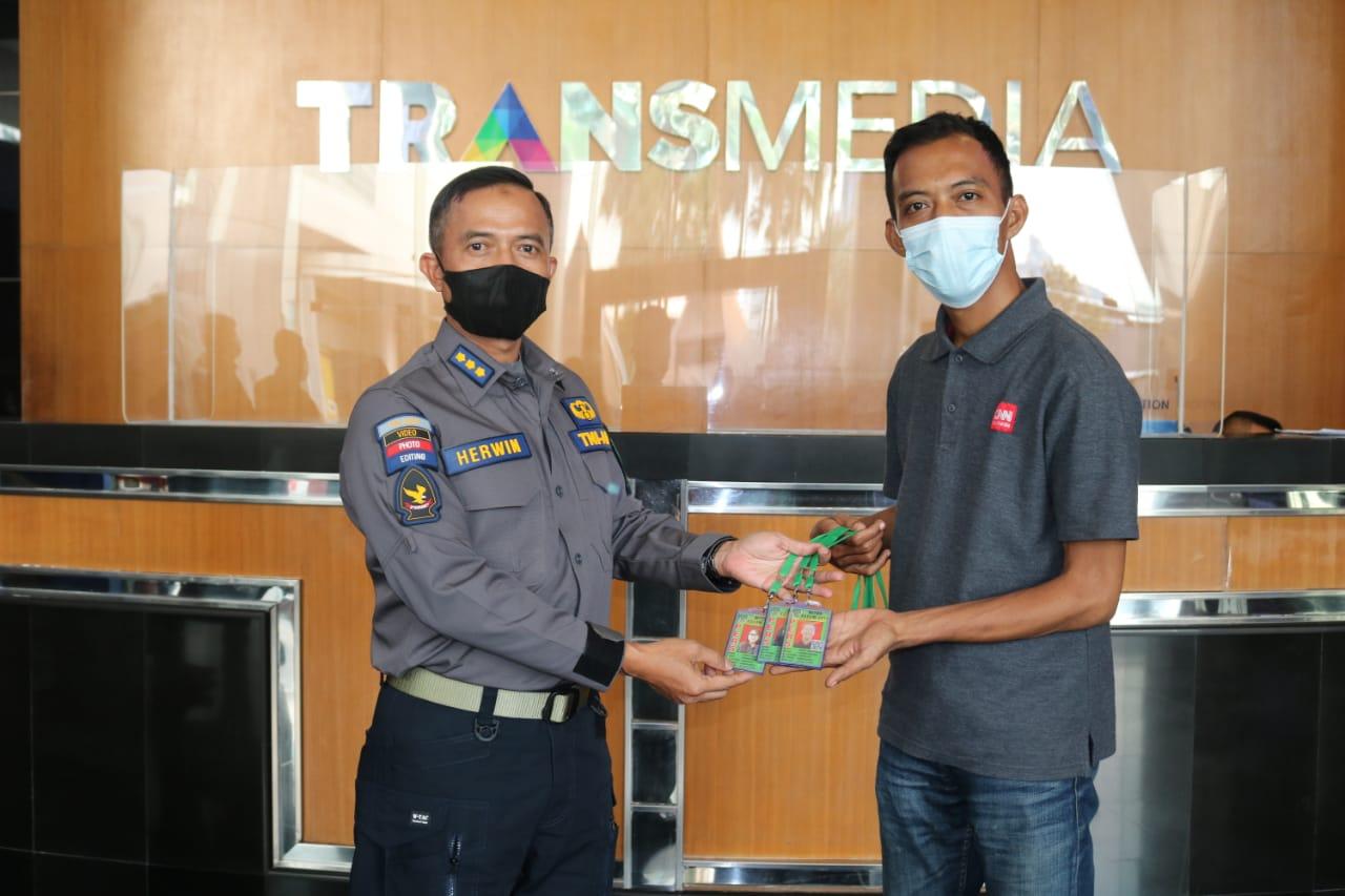 Kapendam Jaya Berkunjung ke Studio Trans Media
