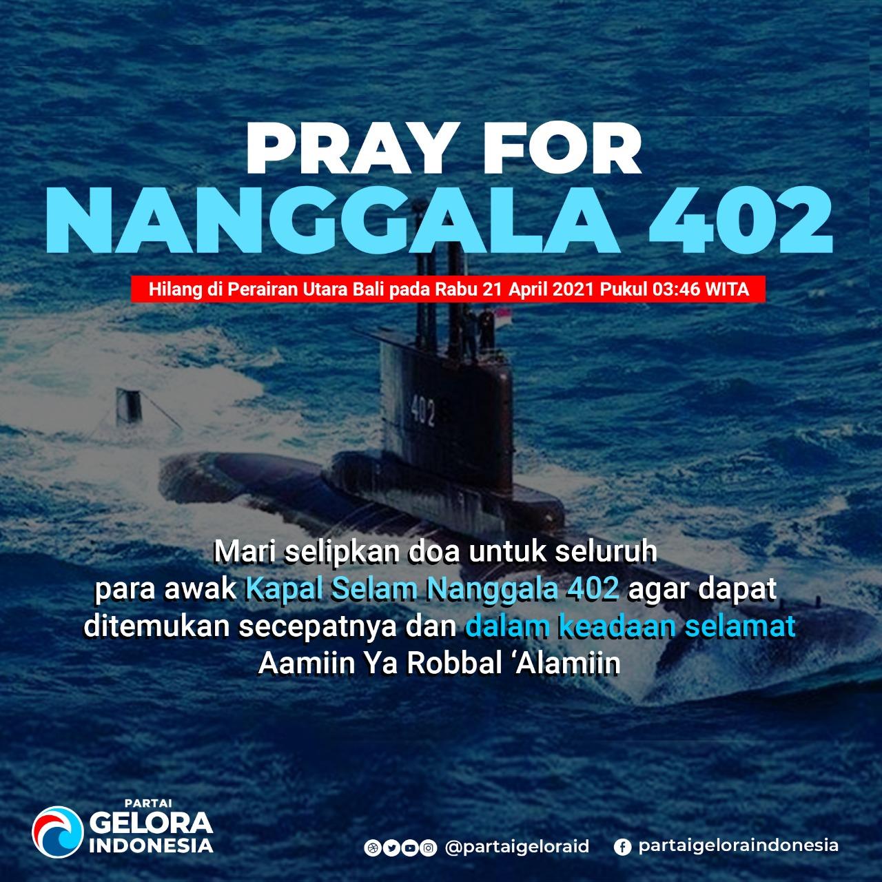 Pray For Nanggala 402, Anis Matta Ajak Rakyat Indonesia Berdoa untuk Keselamatan Seluruh Awak Kapal