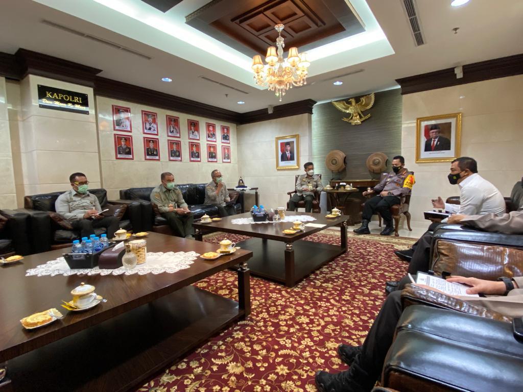 Kapolri Dukung Kementan Wujudkan Swasembada Pangan Nasional