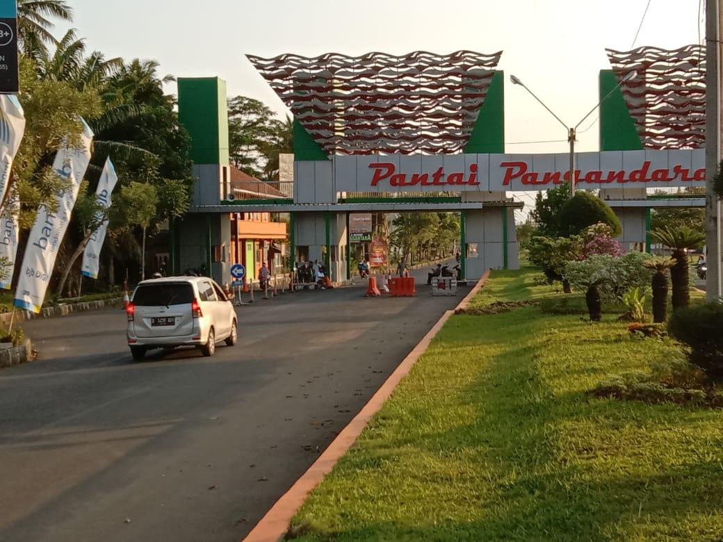 Daerah Wisata di Wilayah Kabupaten Pangandaran Mulai Dibuka
