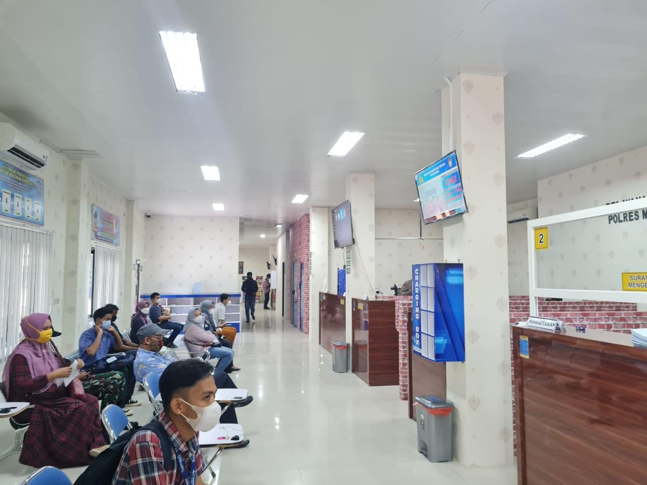 Tingkatkan Kualitas Pelayanan Publik, Polres Maros Sulap Gedung Pelayanan Jadi Lebih Nyaman