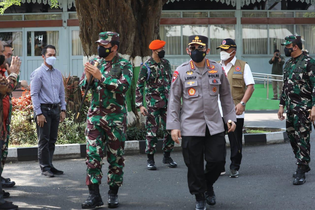 Upaya Tekan Kasus Covid-19 di Kudus, Panglima TNI, Kapolri dan Kepala BNPB Instruksikan Ini