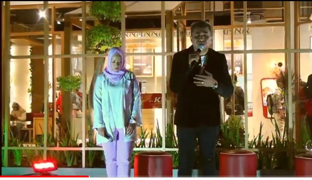 Vicky Anakotta dan Ira Yuri Bawakan Lagu 'Dinda Diany' Ciptaan Slamet Adriyadie di New Curhat IMTV