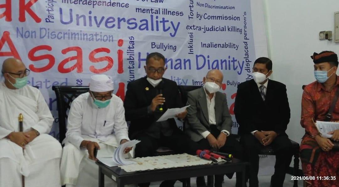 ISKCON Indonesia Laporkan Gubernur Bali ke Komnas HAM