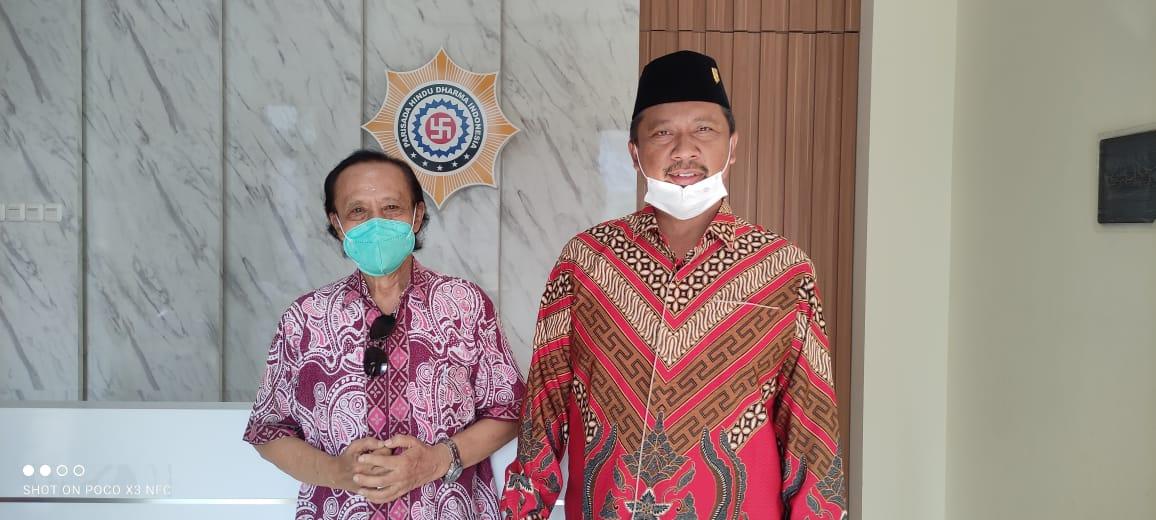 Anggota DPR RI Komisi VIII, I Komang Koheri Kunjungi PHDI Pusat