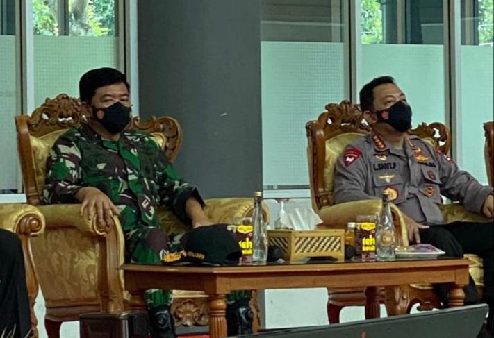 Cegah Covid-19 di Bangkalan Madura, Kapolri dan Panglima TNI Gandeng Tokoh Agama
