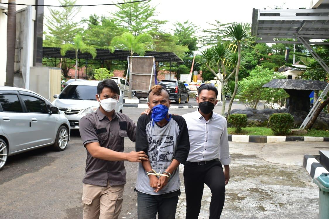 Buron 2 Tahun, akhirnya DibekukSatuan Reserse Kriminal Polres Banjar