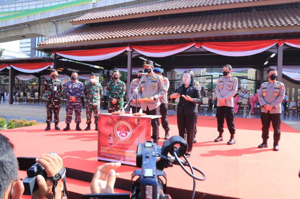 Gelar Baksos Serentak se-IndonesiaJelang Sambut Hari Bhayangkara ke-75