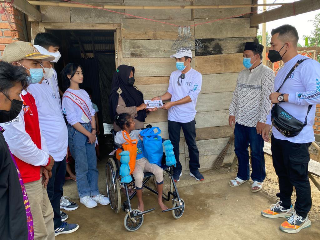 Peduli Kasih & Pemuda Pemudi Lambar Bersatu (PLB) Santuni Disabilitas dan Kaum Duafa