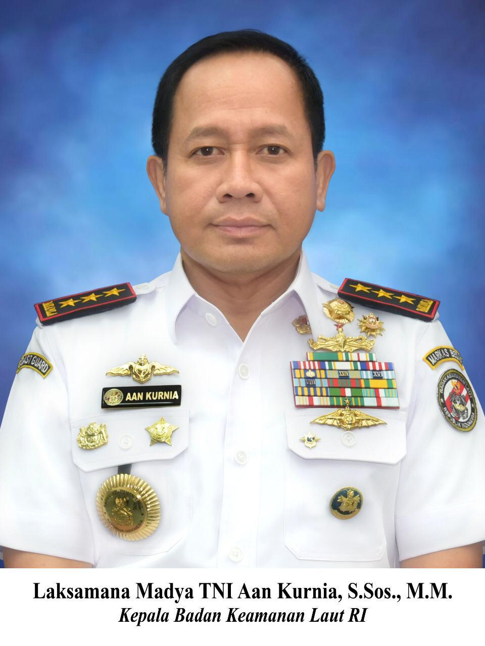 Reformasi Bakamla RI Dilakukan Laksdya TNI Aan Kurnia Menoreh Berbagai Prestasi dan Apresiasi