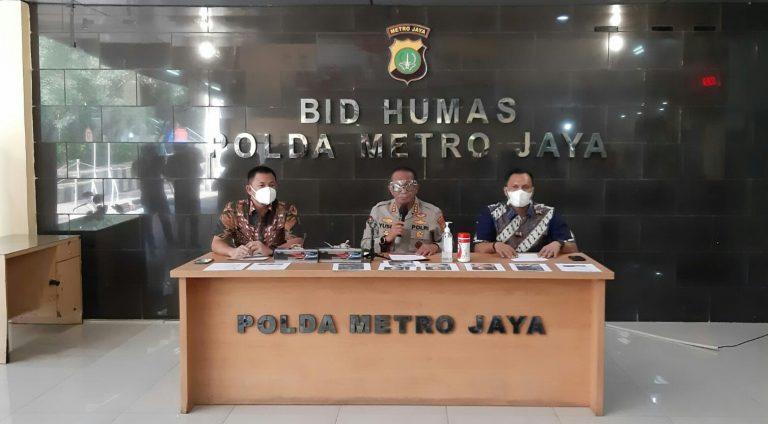 Ditkrimsus Polda Metro Tangkap Penipu Penjual Tabung Oksigen