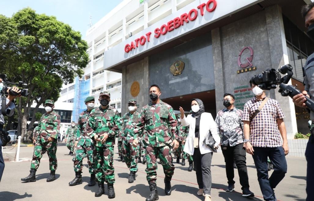 RS Lapangan Modern RSPAD Mulai Beroperasi, Ini Kata Kasad Jenderal TNI Andika Perkasa