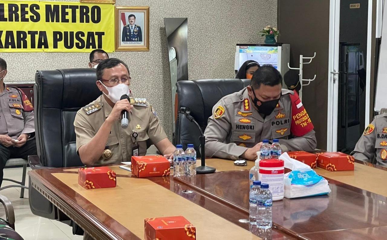 Pemda dan Polres Jakarta Pusat Bersama Dandim 0501/JP BS Siapkan Patroli Malam Takbiran Idul Adha