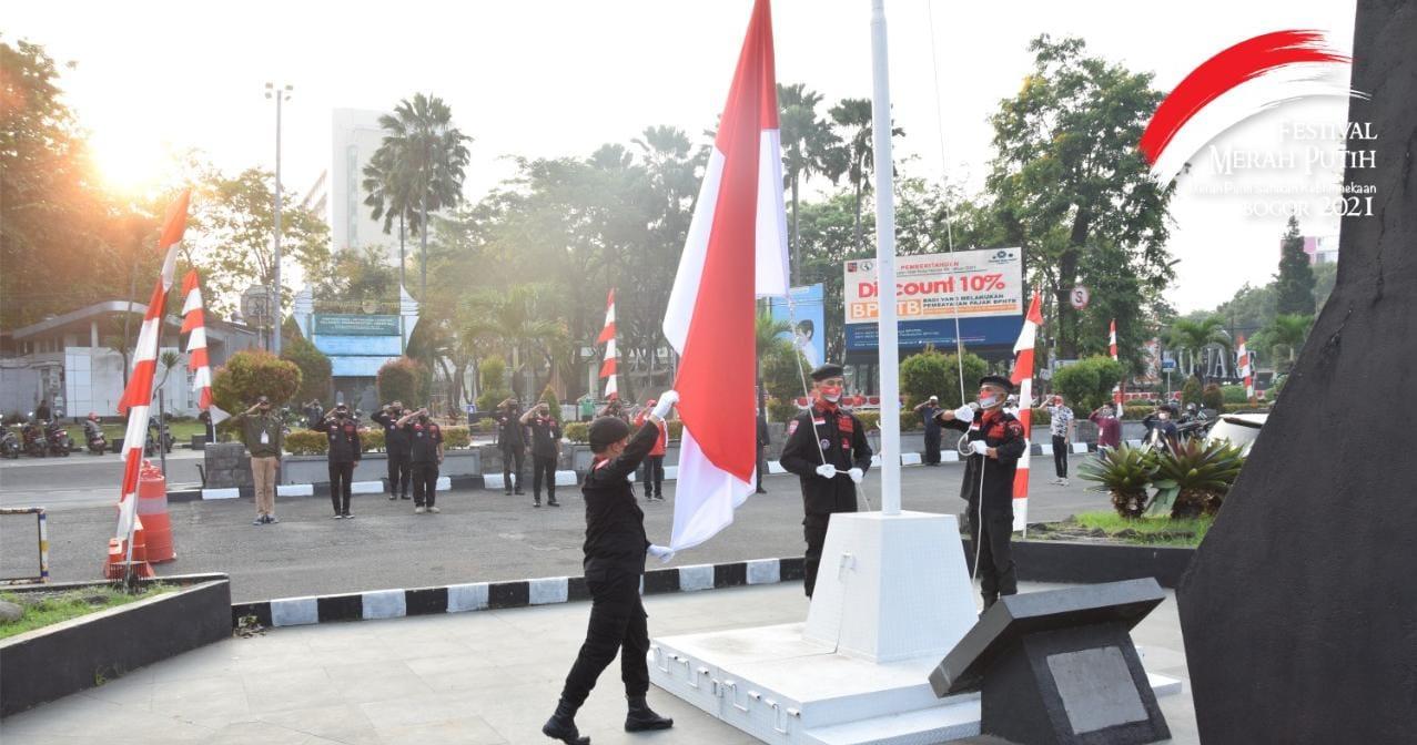Ormas BBR Hadiri Festival Merah Putih Sambut HUT RI ke-76