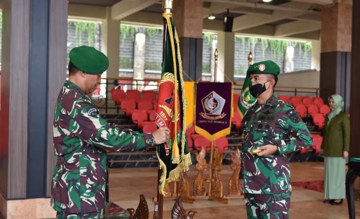 Kasad Pimpin Sertijab dan Laporan Koprs Kenaikan Pangkat Pati TNI AD