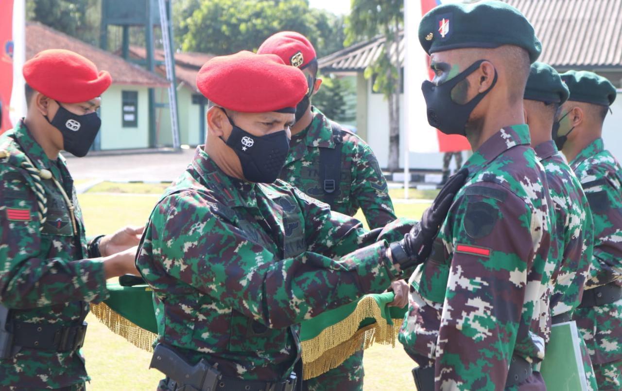 Pembentukan Raider TNI AD Gelombang 1 Resmi Ditutup Danpusdiklatpassus