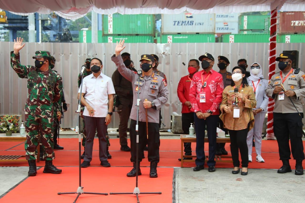 Kapolri Ajak Warga Papua untuk Isolasi di Isoter