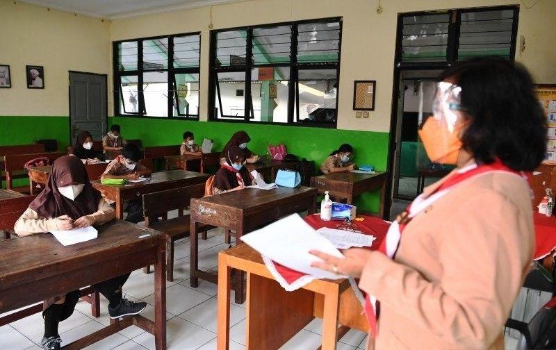 Urai Kemacetan, Ditlantas Polda Metro Jaya Tempatkan Anggota di Sekolah yang Lakukan PTM