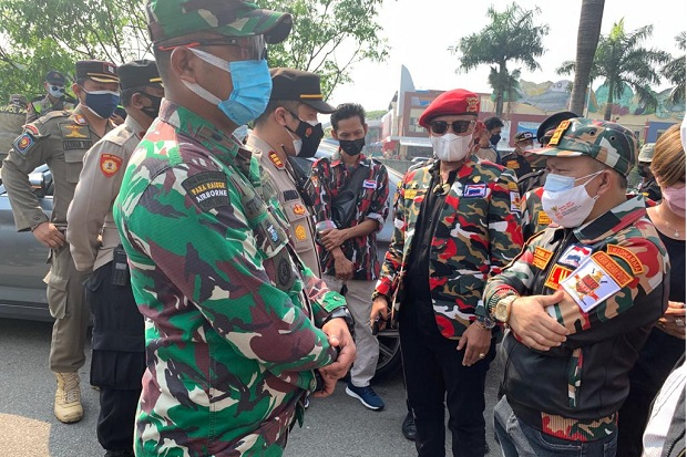 Kapolres Metro Jakarta Utara: Narasi Beredar Di Medsos Terkait Pengibarkan Bendera Merah Putih di PIK Keliru