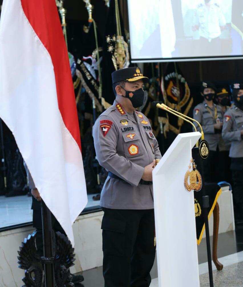 Kapolri Lantik Sejumlah Perwira: Dukung dan Tuntaskan Program Pemerintah Tangani Covid-19
