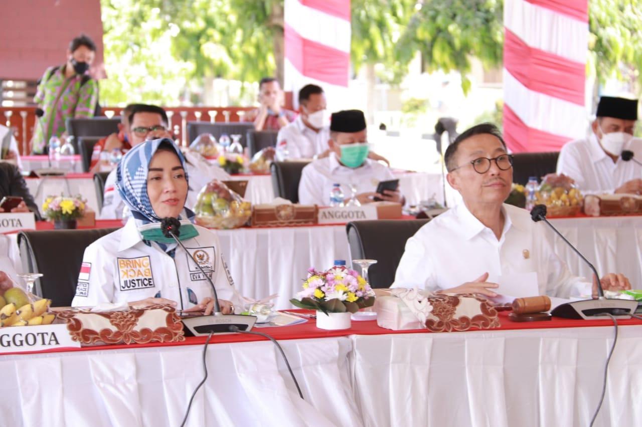 Komisi III DPR RI Apresiasi Langkah Kapolda NTB Dalam Menangani Covid- 19