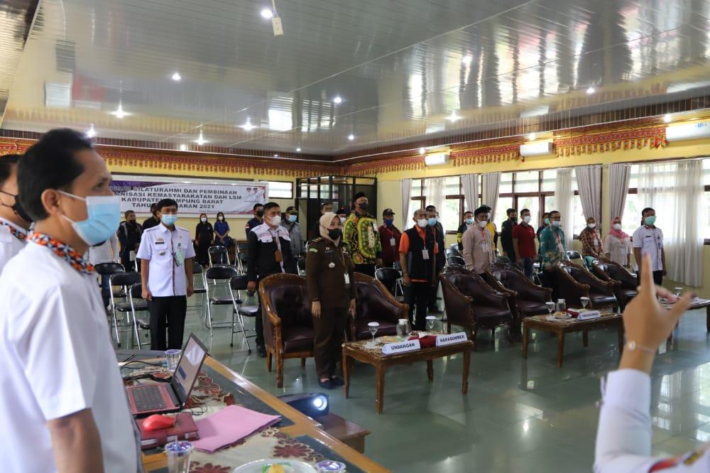 Pemda Lambar Adakan Sosialisasi Forum Silaturahmi dan Pembinaan Ormas dan LSM