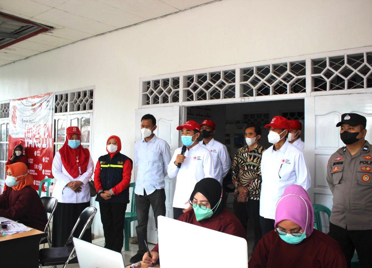 PMI Lambar Gelar Vaksinasi Sasar Pelajar dan Masyarakat Umum