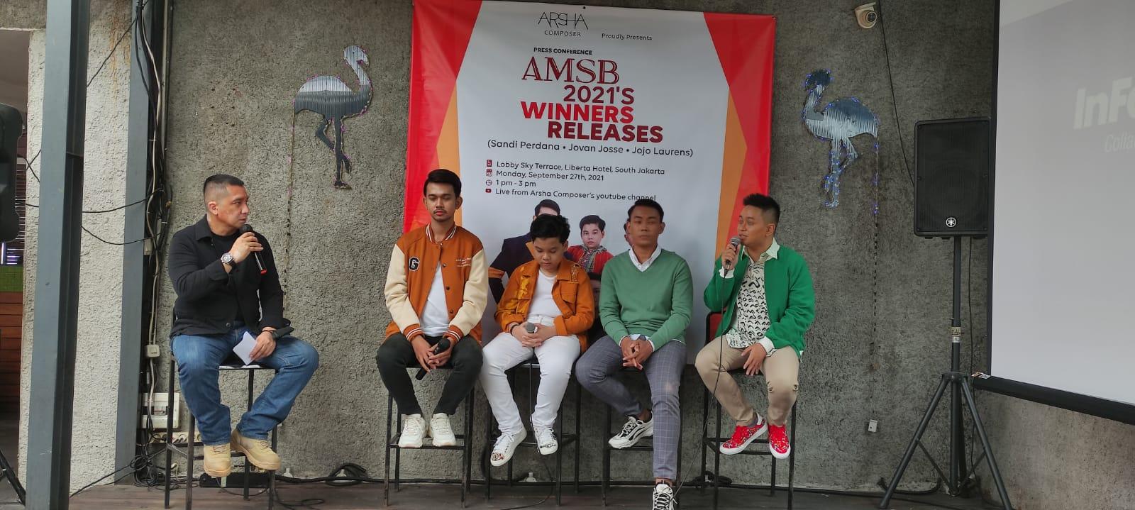 Finalis AMSB 2021 Bersamaan Keluarkan Single Perdana Disambut Antusias