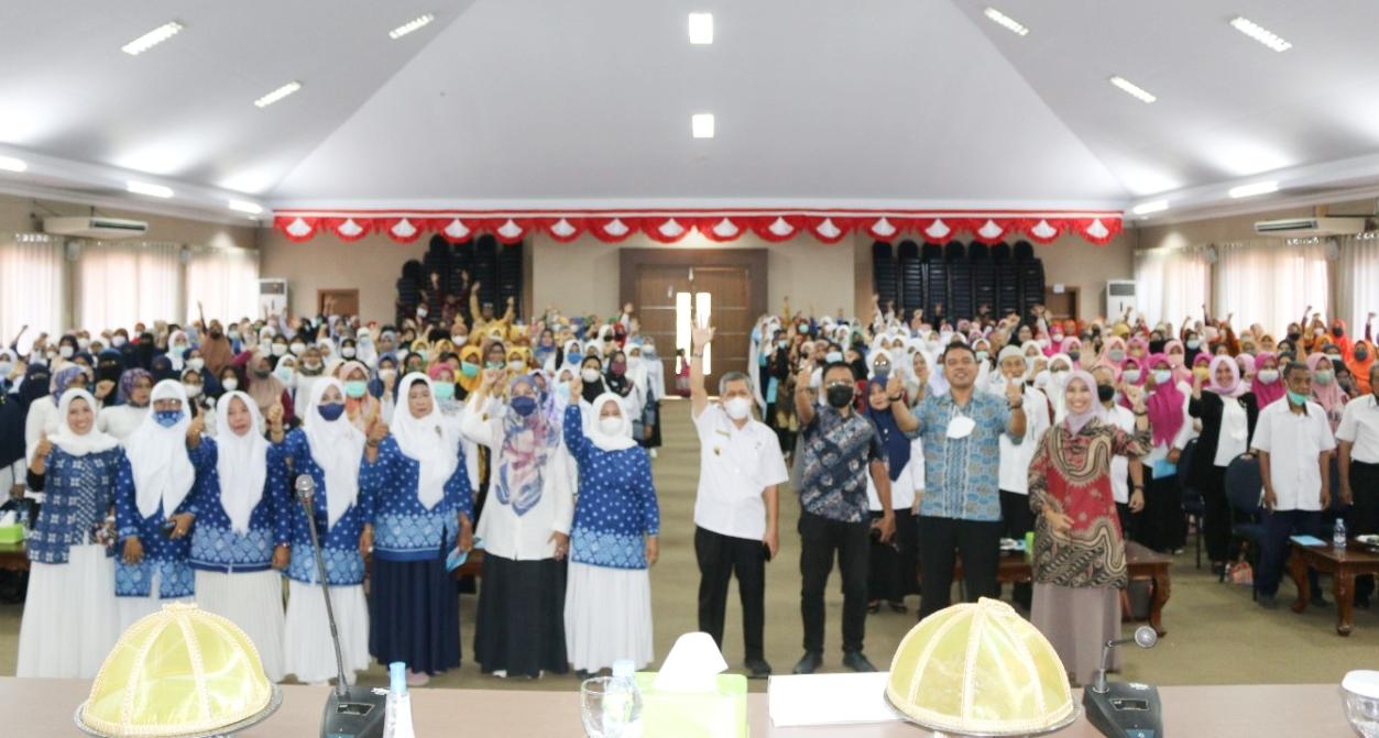 Himpaudi Kabupaten Maros Menggelar Workshop Mendongeng