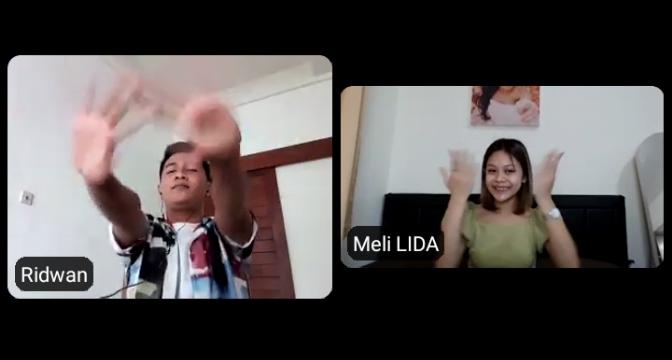 Ridwan dan Meli LIDA Kepingin Jajal Film Layar Lebar