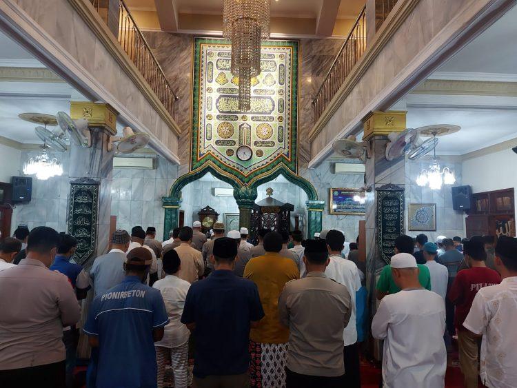Polda Metro Jaya Sasar Masjid Jami Nurul Falah Pasar Minggu Dalam Program Suling