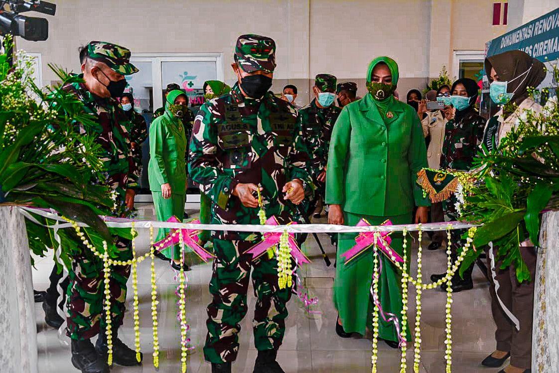 Pangdam III/Siliwangi Mayjen TNI Agus Subiyanto Resmikan 3 Fasilitas Instalasi Canggih