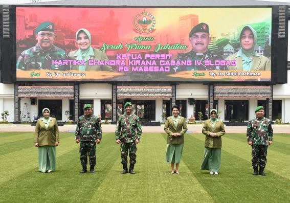 Jenderal TNI Andika Perkasa Pimpin Sertijab Asisten Logistik KSAD
