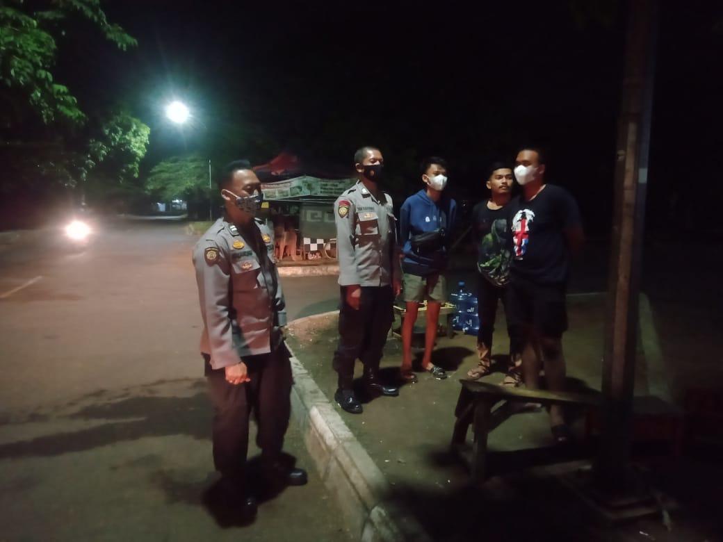 Tingkatkan Kewaspadaa, Polsek Kesambi Polres Ciko Sapa Warga Dengan Patroli KRYD