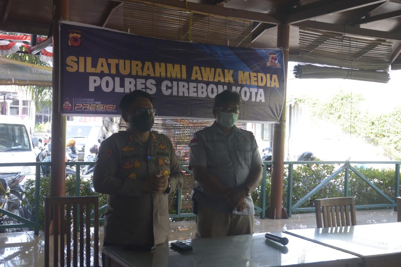 Jurnalis Apresiasi Kapolres Cirebon Kota, Dalam Gathering Media Mitra Humas Polres Ciko