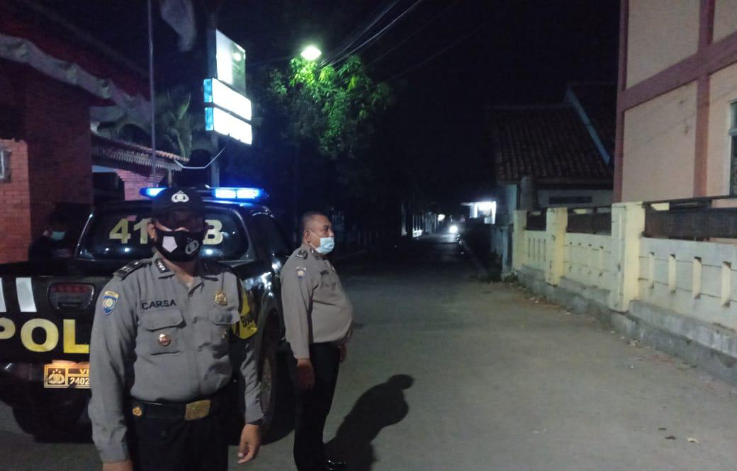 Tingkatkan Keamanan, Polsek Gunungjati Kerahkan Bhabin Intensifkan Patroli KRYD Jelang Pilwu